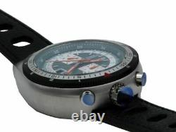 ARSA Bullhead Bleu Montre Automatique Style Rétro Hommes 21 Jewels Ø 48 MM