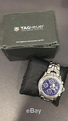 A vendre montre Tag Heuer chronographe automatique bracelet acier