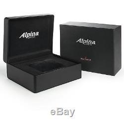 Alpina Alpiner Homme 42mm Automatique Cadran Bleu Montre AL-750N4E6B