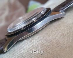 Ancienne montre homme automatique suisse de plongée Paul Garnier 1965 TBE