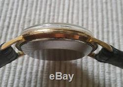 Ancienne montre jeager lecoultre. Plaqué or automatique