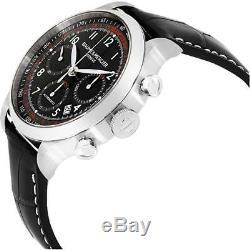 Baume & Mercier Capeland Homme 42mm Bracelet Cuir Automatique Montre 10084