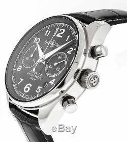 Bell & Ross BR126 pour Hommes Chronographe Automatique Cadran Noir 39mm Montre