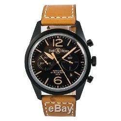 Bell & Ross Heritage Bracelet 126 94 SC Hommes Montre Automatique Cadran Noir