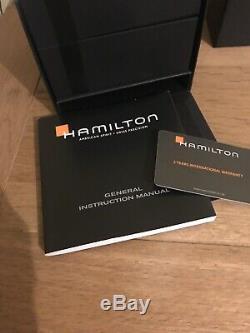 Belle Montre hamilton Khaki automatique h704450 Military Wristwatch