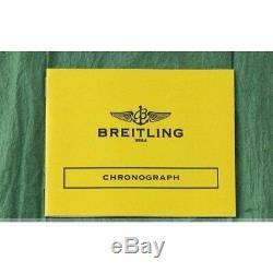 Breitling Chronomat Cockpit Automatique Eta 7750 Homme Montre Cadran Noir Bonne
