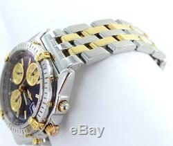 Breitling Chronomat Gt Montre Automatique pour Hommes Acier/Doré Réf. B13050