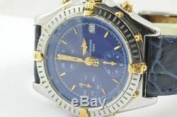 Breitling Chronomat Montre Hommes B13050.1 Automatique Chrono Beau État Bleu