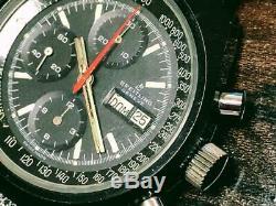 Breitling Montre Tout Noir Breitling Valjoux7750 Automatique
