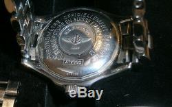 Breitling Superocean 1884 Chronomètre Automatique A17360 1500M Boîte Papiere