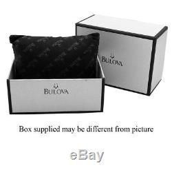 Bulova Homme Bracelet & Boitier Acier Inoxydable Automatique Montre 98B320