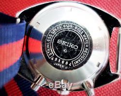 CHRONOGRAPHE Automatique SEIKO POGUE 6139-6002. Année 1974. SUPERBE État