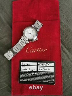 Cartier Montre Pasha Automatique Modele 2324 Vintage Geneve