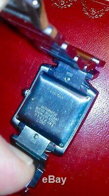 Cartier Tank Francaise en acier inoxydable automatique montre homme 2302