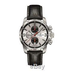 Certina Ds Podium Homme Bracelet Cuir Automatique Montre C001.427.16.037.01