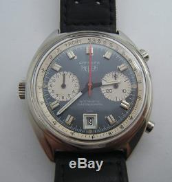 Chronographe Heuer Carrera Automatique Cal. 11 De 1970 Cp4