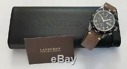 Chronographe Landeron Type Militaire Automatique Valjoux 7750 Swiss