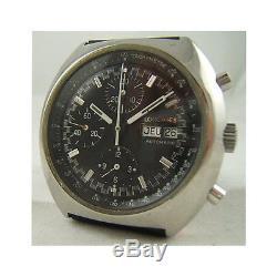 Chronographe Longines Double Date Automatique Mouvement Valjoux 7750 De 1970