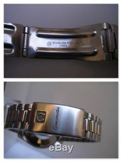 Chronographe Omega Speedmaster Réduit 1750043 Acier Automatique Montre Hommes