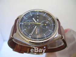 Chronographe Seiko Day-date Jumbo 6138-3002 Automatique 70 Montre Hommes