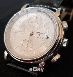 Chronographe Suisse Longines Les Grandes Classiques Automatique (Ref L4.686.4)