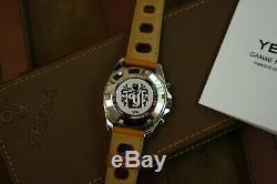 Chronographe YEMA automatique Yachtingraf Croisière sortie en 1969