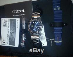 Citizen Promaster Montre de plongée automatique Hommes Set ny0040-17lem ANALOGUE
