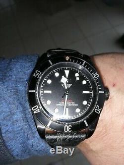 Deux montres automatique TUDOR Manufacture BLACK BAY