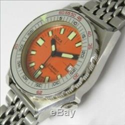 Doxa Sub 600T Conduite Star 4478 Ss 1970 Automatique Calibre 2872 Boîtier 39.5mm