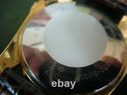 ETAT RARE montre ancienne automatique ZODIAC Olympos mystery dial dans sa boit