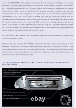 Ebel Tekton Montre Chrono Automatique 48mm