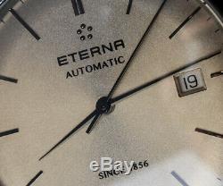 Eterna Éternité Homme Suisse Fabriqué Automatique Slim Classic Robe Montre Neuf