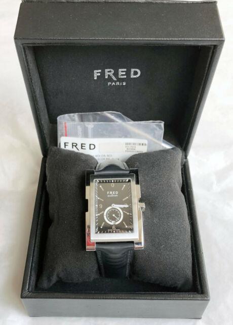 Fred 36xl Montre Automatique Fd052510a003 Cadran Noir Neuve En Boite