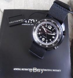 HAMILTON KHAKI PILOT PIONEER ALU AUTOMATIQUE H80485835 MONTRE HOMMES Neuve