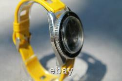 HORUS montre plongée vintage boitier Monnin, mvt ETA automatique
