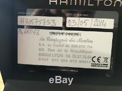 Hamilton khaki fiel titanium automatique 42 mm