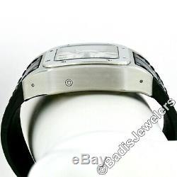 Homme Cartier Santos XL Automatique Chronographe 42mm Montre en Acier Ref 2740