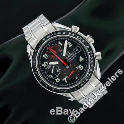 Homme Omega Speedmaster Rouge Mark 40mm Automatique Montre Chronographe Réf
