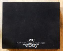 IWC Portofino Automatique Chronographe Acier/Acier Stainless Steel FULL SET