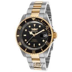 Invicta Pro Diver Homme 40mm Bracelet Acier Bicolore Automatique Montre 8927OB