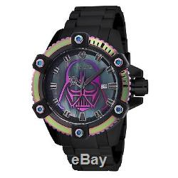 Invicta STAR WARS Homme Bracelet Acier Inoxydable Automatique Montre 26558