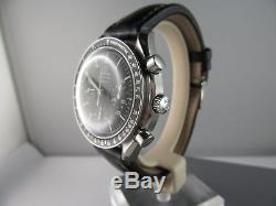 J547 Omega Speedmaster Chronographe automatique hommes montre vintage