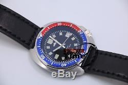 Le japon nh35 automatique de thon marinemaster homme turtle 6105-8110 montre de