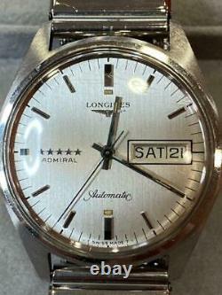 Longines Admiral 5 Star Automatique Jour / Date Homme Montre wl21310