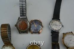 Lot de 14 montres d'homme (automatique zenith kelton kiple elix)