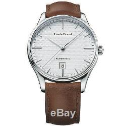 Louis Erard Homme Bracelet Cuir Marron Automatique Montre 69287aa21. Bva01