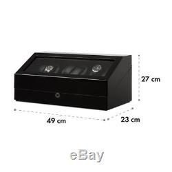 Luxe Presentoir 13 Montres Klarstein Vitrine Watchwinder Remontoir Automatique