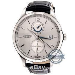 MONTBLANC HERITAGE CHRONOMETRIE Double heure montre bracelet automatique 112540