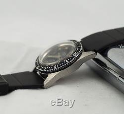 Montre Acier Automatique Flux Diving Vintage Watch Montre De Plongee Eta 2551