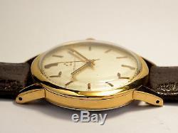 Montre Ancienne Eterna Matic Automatique Pl/or 1960 Vintage Watch